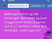 HEBOH! Suara Dentuman Keras Misterius Hingga Bikin Getar Rumah Warga di Daerah Siak - Pelalawan Riau