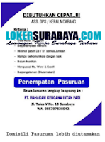 Walk In Interview di PT. Mahakam Kencana Intan Padi Surabaya September 2020