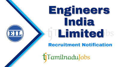 EIL Recruitment notification 2019, govt jobs for engineering graduate, central govt jobs, govt jobs in india