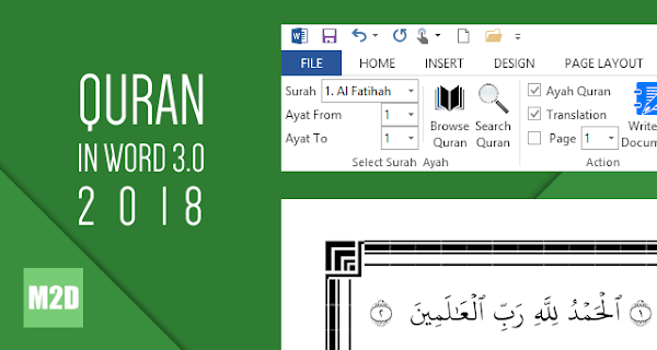 Quran in Word 3.0 2018
