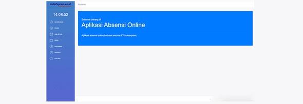 Aplikasi Absensi Pegawai Berbasis Web - Codeigniter)