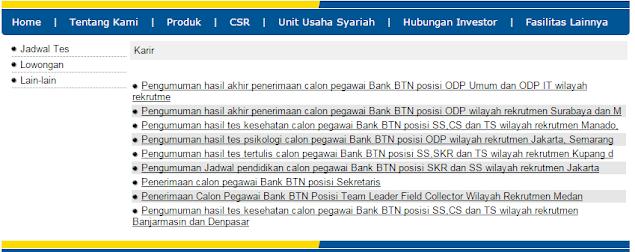 Loker Terbaru Bulan Ini  - Lowongan Kerja Bank BTN Surabaya Terbaru 2021