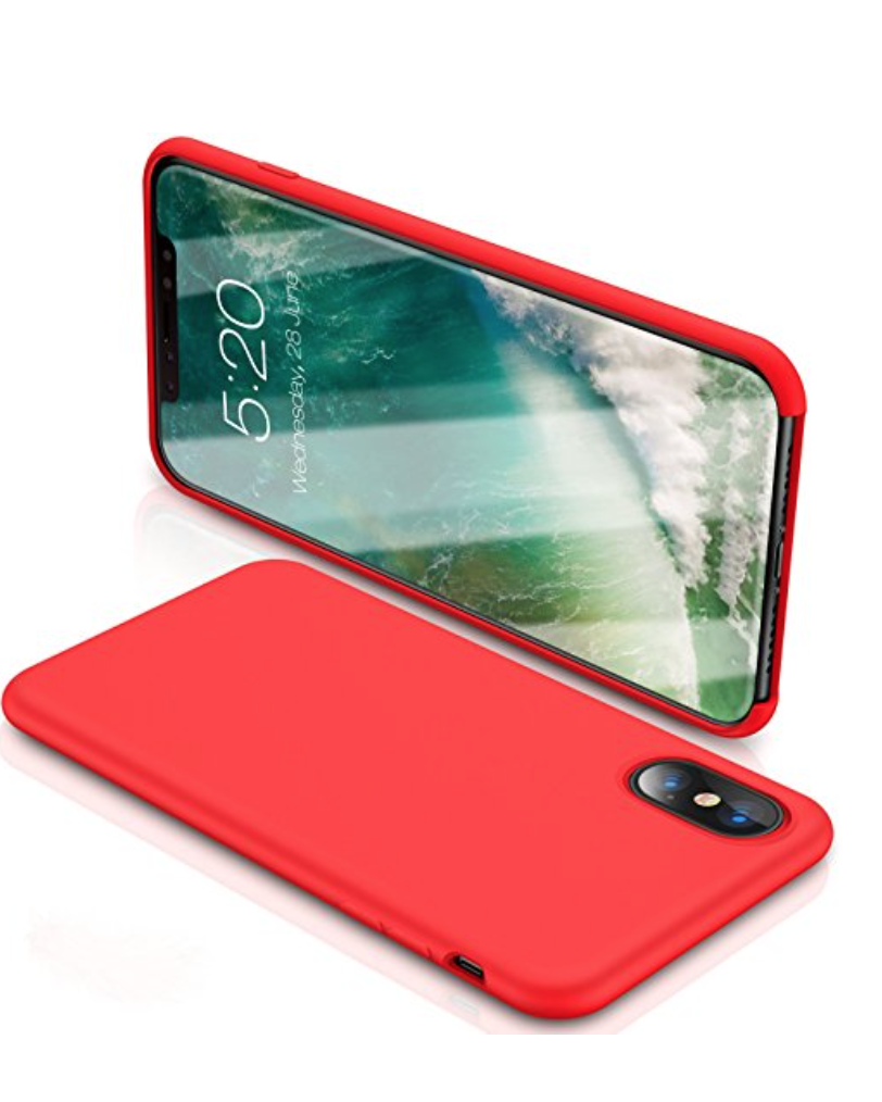Top Best Cases For Iphone X Thunder Tech Spigen Case Liquid Crystal Clear Torras Love Series Silicone Gel Rubber Shockproof With Soft Microfiber Cloth Lining Cushion Apple 2017 Red