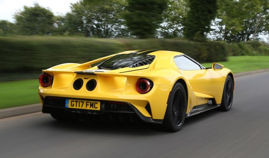 2017 Ford GT UK Review