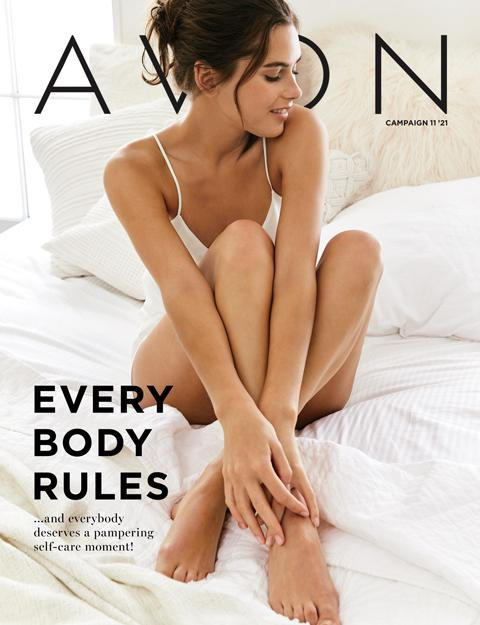 AVON FLYER CAMPAIGN 11 2021 - EVERY BODY RULES!