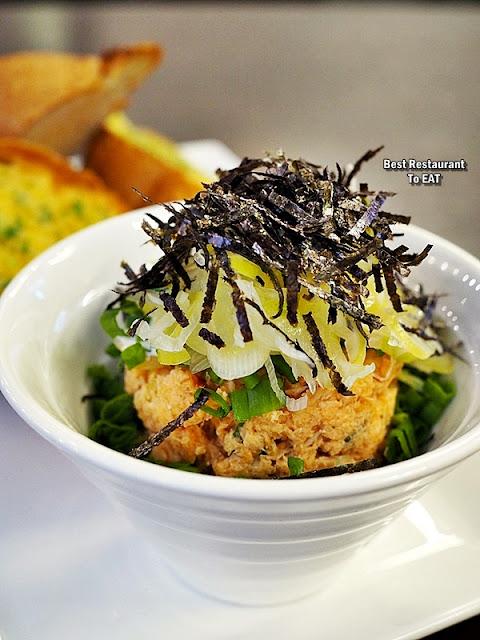 YUGO HOUSE PUBLIKA Signature Menu - Negi Salmon Wasabi