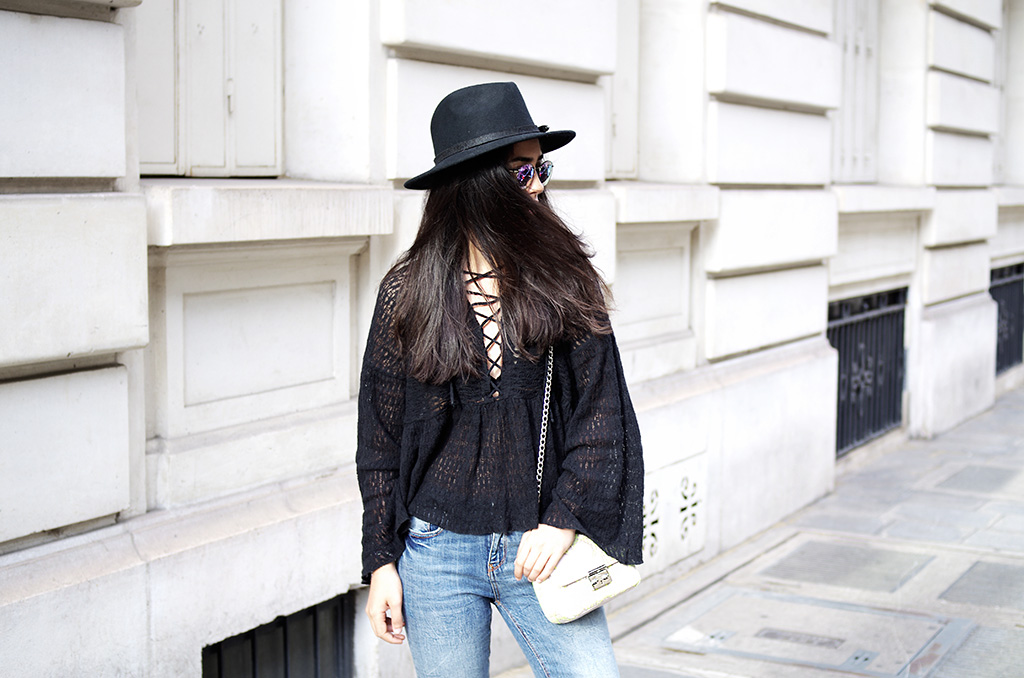 Elizabeth l Boho vibes outfit blog mode l Pull & Bear Zara Asos l THEDEETSONE l http://thedeetsone.blogspot.fr