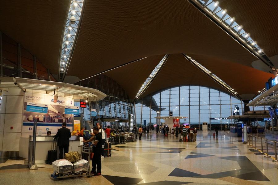 Aeroporto de Kuala Lumpur na Malásia