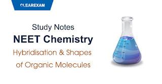 Hybridisation & Shapes of Organic Molecules