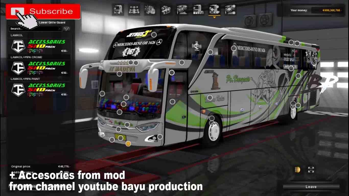 Adiputro Jetbus 3 Pack By Ojepeje Team Mod Ets2 Indonesia