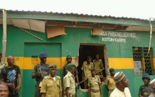 50 Prisoners Attempt To Escape From Keffi Prison Fails