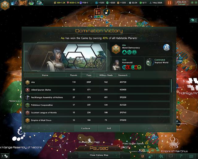 Domination Victory   Stellaris Screenshot