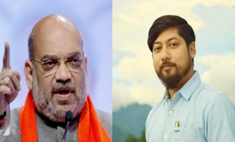 Nishith Pramanik will do the all work in the role of Amit Shah's eye-ear in Bengal.