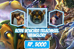 Voucher Telkomsel Vainglory