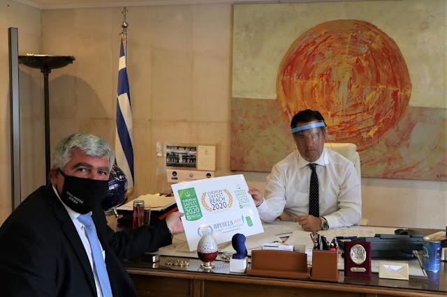 Συνάντηση του Υπουργού Ανάπτυξης & Επενδύσεων με τον Δήμαρχο Πρέβεζας