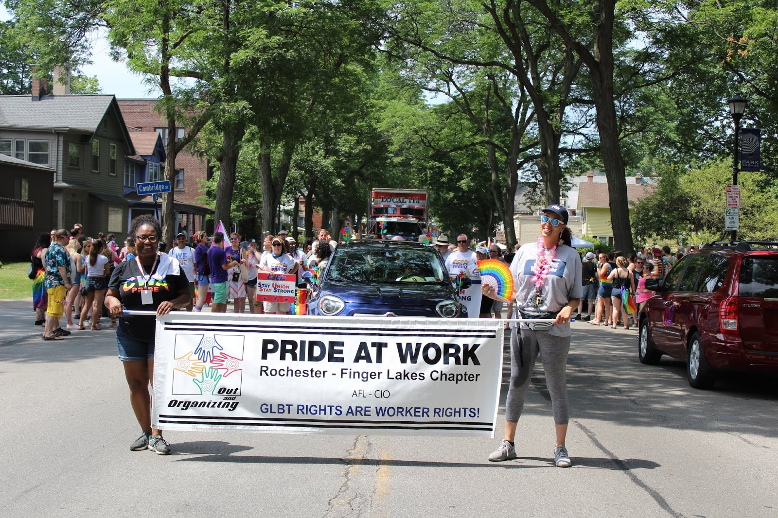 Pride at Work AFL-CIO Rochester Finger Lakes Chapter