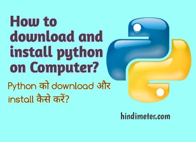 How to download and install python on computer
