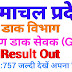 Himachal Pradesh GDS Result out Check Now