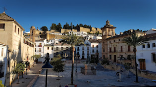 City centre of Andalucian town, Antequera
