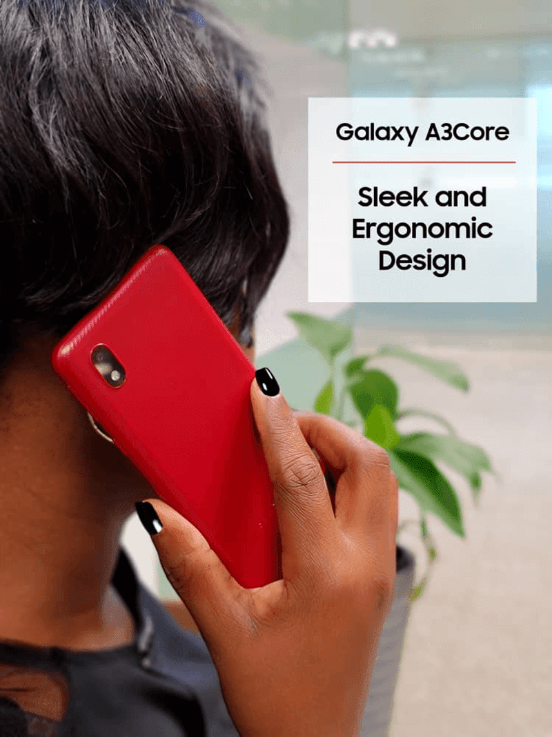 The back design of the phone