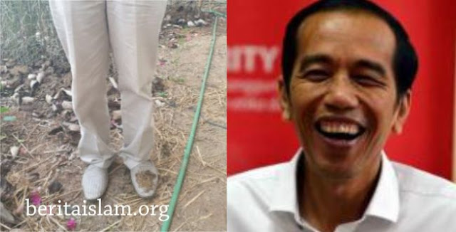 Sindir Jokowi, Said Didu Pamer Sepatu Kotor