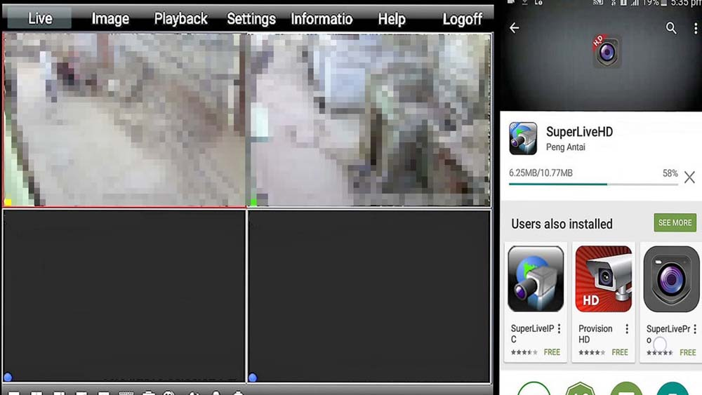 How to view cameras on phone (Android, iPhone) or TV