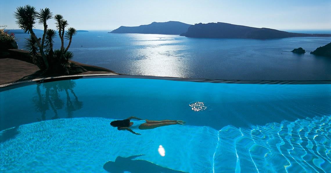 Newwiki Top 10 Santorini Hotels With Infinity Pools