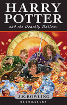 Harry Potter and the Deathly Hallows by J. K. Rowling book cover