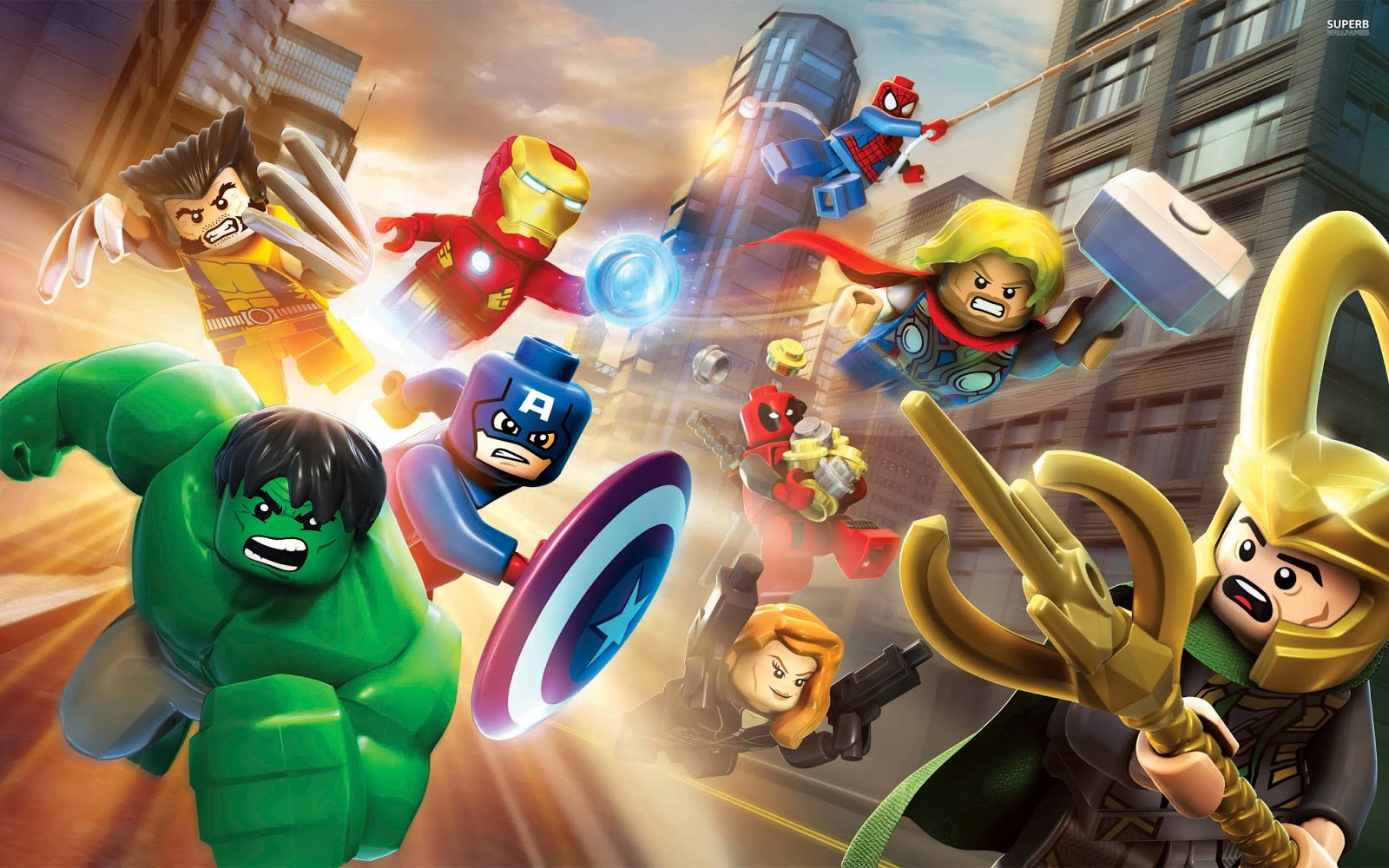 The Save Room: Lego Marvel Super Heroes Review