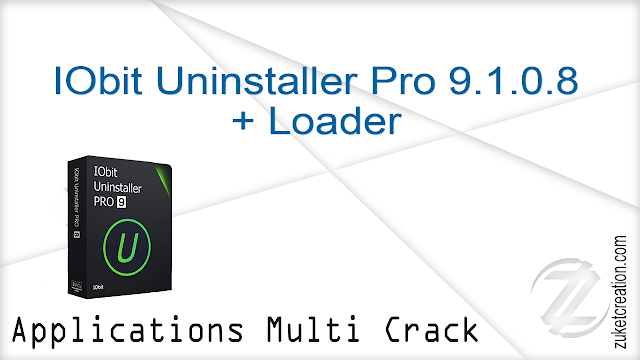 IObit Uninstaller Pro 9.1.0.8 + Loader