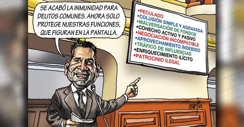 Carlincaturas Domingo 13 Diciembre 2020 - La República