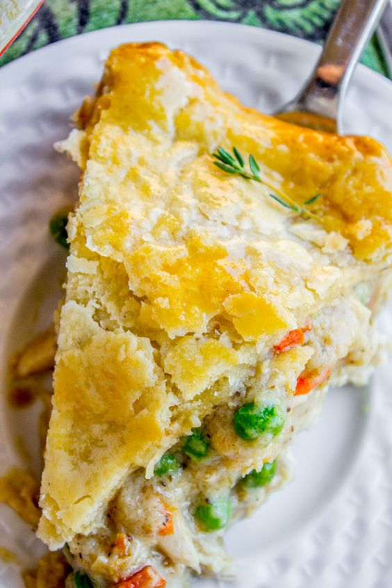 Classic Double Crust Chicken Pot Pie