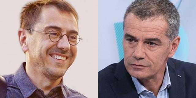 Monedero y Toni Cantó