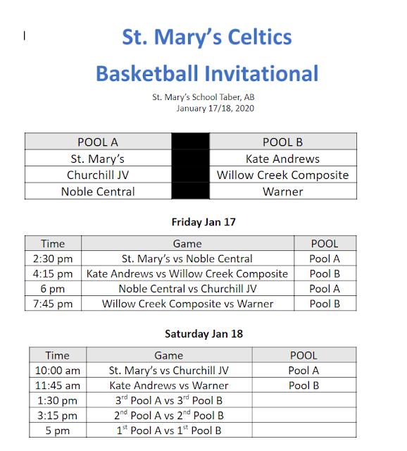JV - St. Mary's Tournament