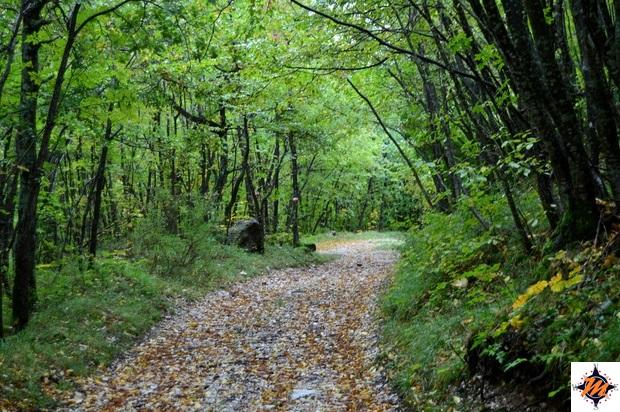 Garulla. Camminando lungo il sentiero natura
