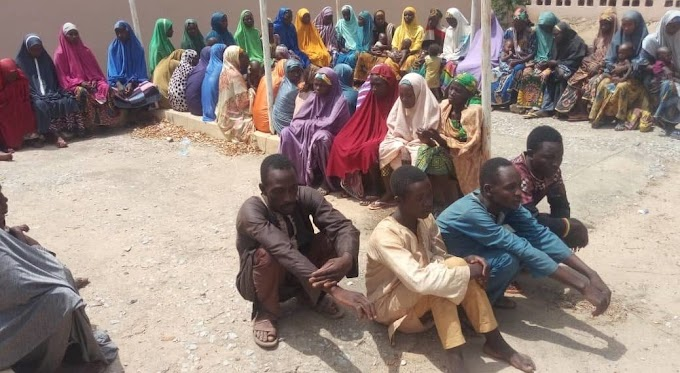 100 kidnapped victims rescued in Zamfara (PHOTOS)