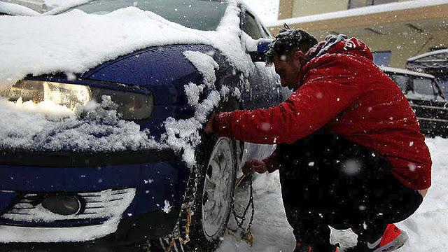 Ποιοι δρόμοι έκλεισαν στην Πελοπόννησο από τα χιόνια