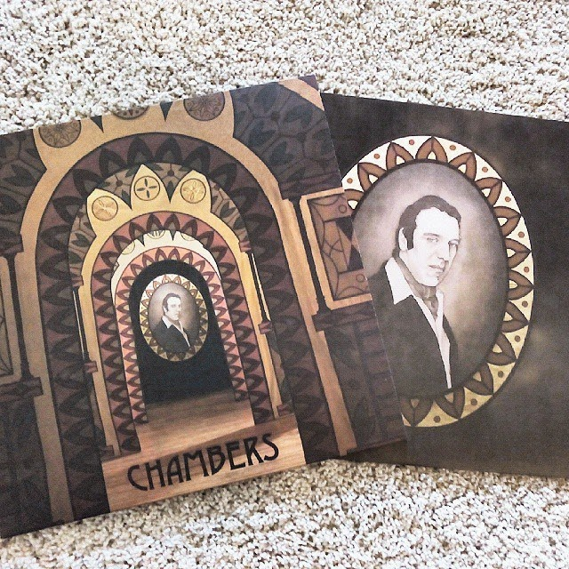 Chilly Gonzales chambers vinyl édition pochette album