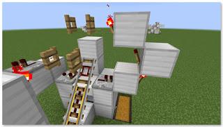 Minecraft トロッコ輸送 積み込み駅 作り方②