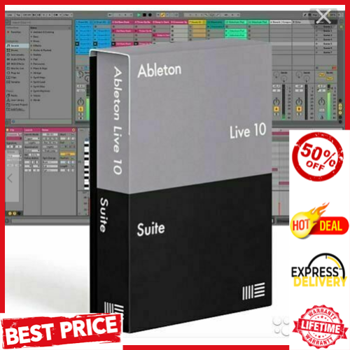 Ableton Live 10 Suite Lifetime Version For (WIN & MAC) ✅Fast Delivery ✅.