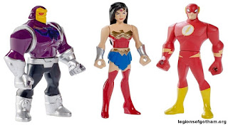 A Closer Look at Mattel's Justice League Action Cartoon Figures