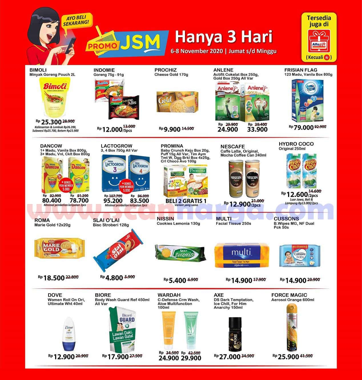 Katalog Promo JSM Alfamart Terbaru 13 - 15 November 2020 ...