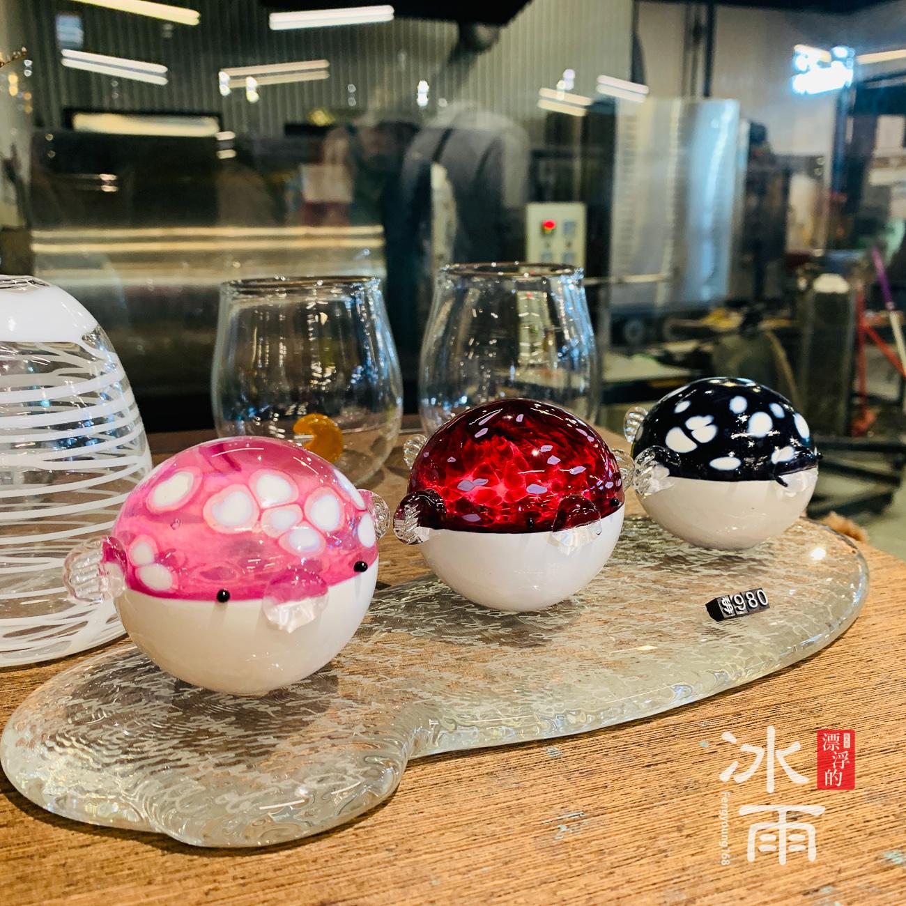 這些獨特了琉璃創作,都是獨一無二的產品,非常適合來送禮