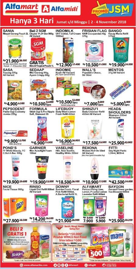 Alfamart - Promo Katalog JSM Periode 02 - 04 November 2018