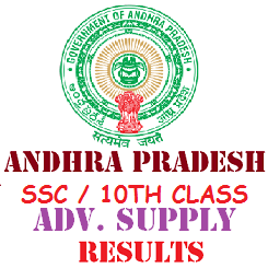 Manabadi AP SSC 10th Class Advanced Supplementary Results