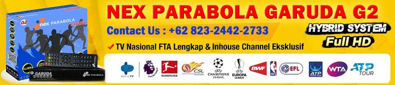 Spesifikasi Nex Parabola Garuda G2 HD