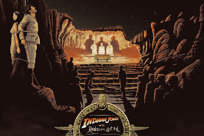 "Indiana Jones and the Raiders of the Lost Ark ""The Ark is Open"" Screen Print by Cristian Eres x PopCultArt"