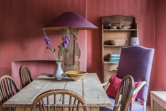 Beautiful Belgian style interior designed interior by Natalie Haegeman - found on Hello Lovely Studio