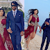 Angela Okorie marries her fiance Desmond in a very romantic beach wedding (Photos)