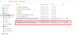Cara Menginstall XAMPP Versi 7.2.3 + Mengganti Port Apache